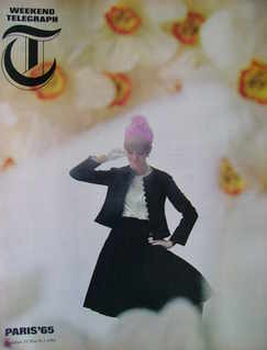 Weekend Telegraph magazine - Paris 1965 cover (5 March 1965)