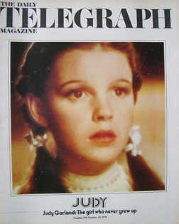 <!--1975-10-31-->The Daily Telegraph magazine - Judy Garland cover (31 Octo