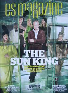 <!--2010-10-22-->Evening Standard magazine - Jean Paul Gaultier cover (22 O