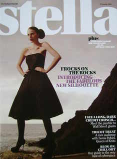<!--2008-11-09-->Stella magazine - Frocks On The Rocks cover (9 November 20
