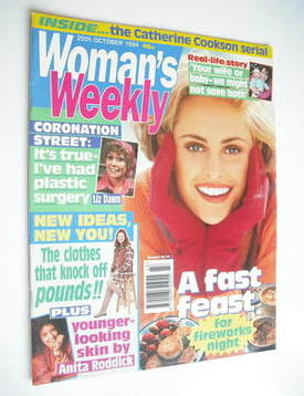 <!--1994-10-25-->Woman's Weekly magazine (25 October 1994)