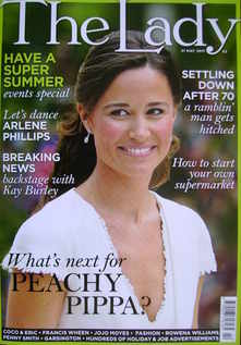 <!--2011-05-31-->The Lady magazine (31 May 2011 - Pippa Middleton cover)
