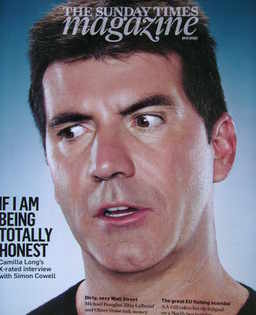 <!--2010-09-19-->The Sunday Times magazine - Simon Cowell cover (19 Septemb