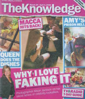 The Knowledge magazine - 29 March-4 April 2008