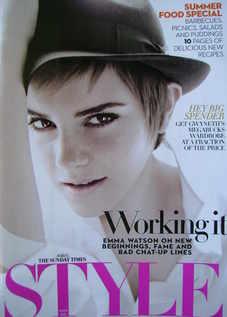 <!--2011-06-05-->Style magazine - Emma Watson cover (5 June 2011)
