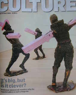 <!--2011-06-05-->Culture magazine - The Dance by Folkert de Jong cover (5 J