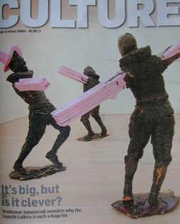 <!--2011-06-05-->Culture magazine - The Dance by Folkert de Jong cover (5 J