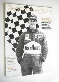 <!--1999-07-10-->Telegraph magazine - Michael Schumacher (10 July 1999)