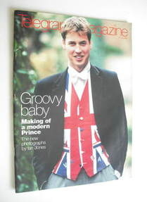 <!--2000-06-17-->Telegraph magazine - Prince William cover (17 June 2000)