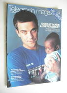 <!--2000-06-24-->Telegraph magazine - Robbie Williams cover (24 June 2000)