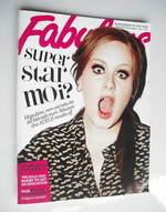 <!--2011-05-15-->Fabulous magazine - Adele cover (15 May 2011)