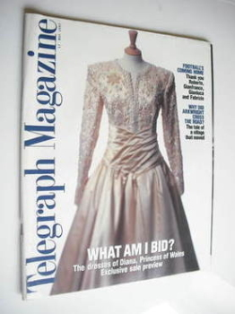 Telegraph magazine - The Dresses of Diana Princess of Wales cover (17 May 1997)