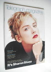 <!--1999-06-26-->Telegraph magazine - Sharon Stone cover (26 June 1999)