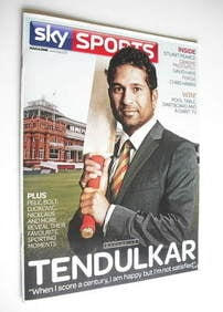 Sky Sports magazine - June/July 2011 - Sachin Tendulkar cover