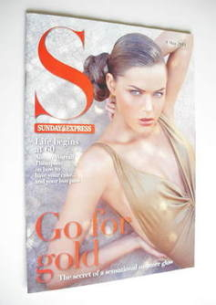 <!--2011-05-08-->Sunday Express magazine - 8 May 2011 - Go For Gold cover