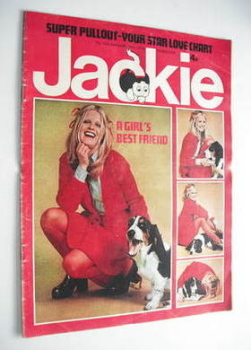 Jackie magazine - 19 January 1974 (Issue 524)