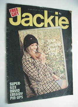 <!--1974-01-12-->Jackie magazine - 12 January 1974 (Issue 523)
