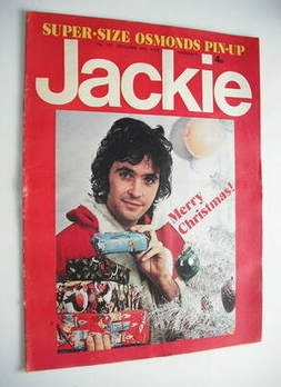 Jackie magazine - 29 December 1973 (Issue 521 - David Essex cover)