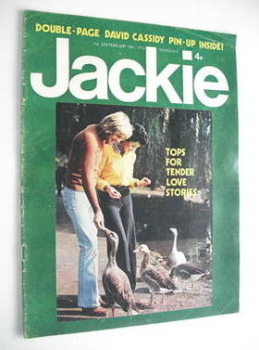 Jackie magazine - 16 February 1974 (Issue 528)