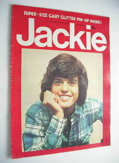 Jackie magazine - 9 February 1974 (Issue 527 - Donny Osmond cover)
