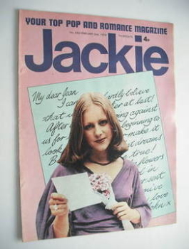 Jackie magazine - 2 February 1974 (Issue 526)