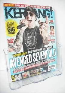 <!--2011-06-11-->Kerrang magazine - Avenged Sevenfold cover (11 June 2011 -