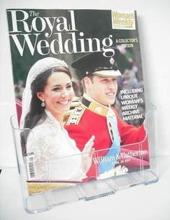 <!--2011-04-29-->Woman's Weekly magazine - Kate Middleton and Prince Willia