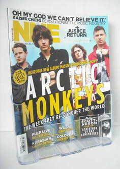 <!--2011-06-11-->NME magazine - Arctic Monkeys cover (11 June 2011)