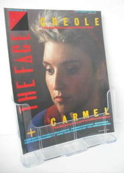 The Face magazine - Carmel McCourt cover (September 1983)