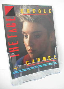 <!--1983-09-->The Face magazine - Carmel McCourt cover (September 1983)