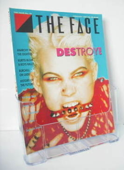The Face magazine - Destroy cover (February 1986 - Issue 70)