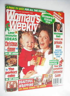 <!--1994-12-20-->Woman's Weekly magazine (20-27 December 1994)