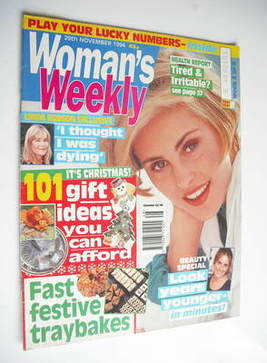 <!--1994-11-29-->Woman's Weekly magazine (29 November 1994)