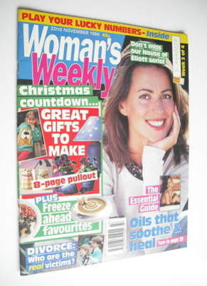 <!--1994-11-22-->Woman's Weekly magazine (22 November 1994)