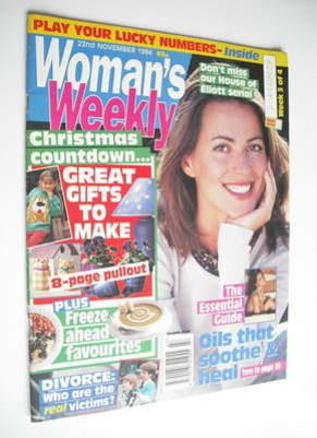 <!--1994-11-22-->Woman's Weekly magazine (22 November 1994)