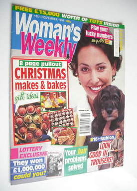 <!--1994-11-15-->Woman's Weekly magazine (15 November 1994)