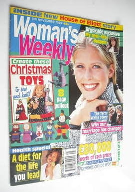 <!--1994-11-08-->Woman's Weekly magazine (8 November 1994)