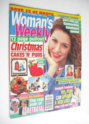 <!--1994-11-01-->Woman's Weekly magazine (1 November 1994)