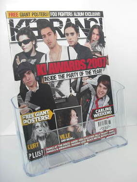 <!--2007-09-08-->Kerrang magazine - K Awards 2007 cover (8 September 2007 -
