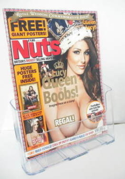 Nuts magazine - Lucy Pinder cover (29 April - 5 May 2011)