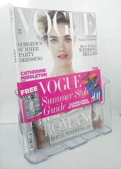 <!--2011-05-->British Vogue magazine - May 2011 - Natalia Vodianova cover