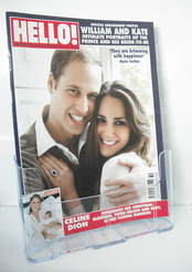 <!--2010-12-20-->Hello! magazine - Prince William and Kate Middleton cover
