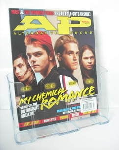 Alternative Press magazine - March 2011 - My Chemical Romance cover (Cover 1)