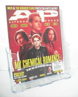 Alternative Press magazine - March 2011 - My Chemical Romance cover (Cover 2)
