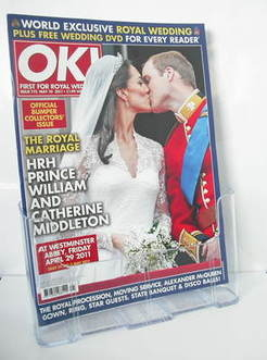 <!--2011-05-10-->OK! magazine - Prince William and Kate Middleton wedding c