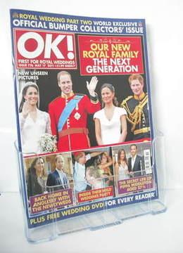 <!--2011-05-17-->OK! magazine - Prince William and Kate Middleton Wedding c