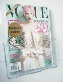 US Vogue magazine - March 2011 - Lady Gaga cover