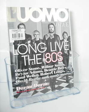 <!--2011-04-->L'Uomo Vogue magazine - April 2011 - Duran Duran cover