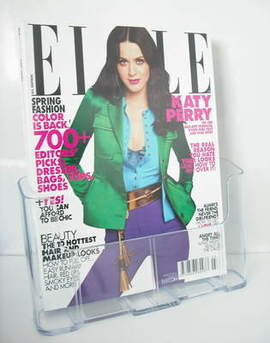 US Elle magazine - March 2011 - Katy Perry cover