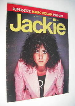 <!--1973-05-05-->Jackie magazine - 5 May 1973 (Issue 487 - Marc Bolan cover